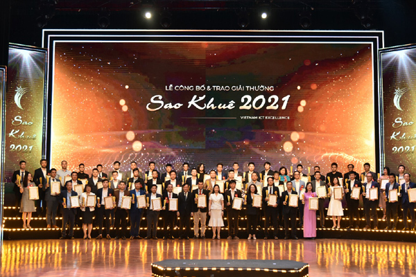 DTS Software Vietnam wins Sao Khue Awards 2021 for new software products