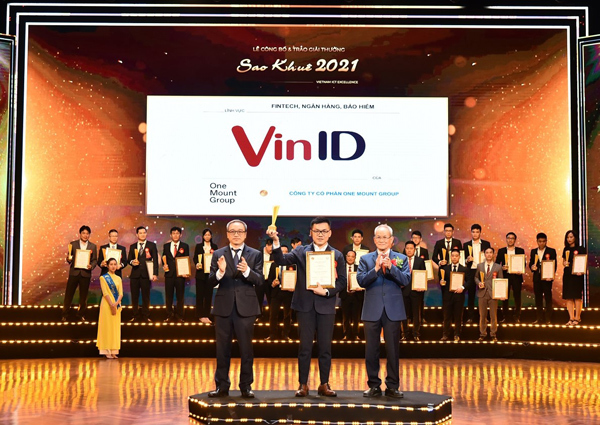 VinID nhận giải thưởng Sao Khuê cho Siêu ứng dụng xuất sắc