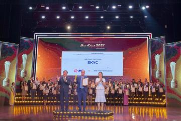 Giải pháp eKYC của MB giành giải thưởng Sao Khuê 2021