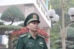 The border guard general who is both scholar and warrior