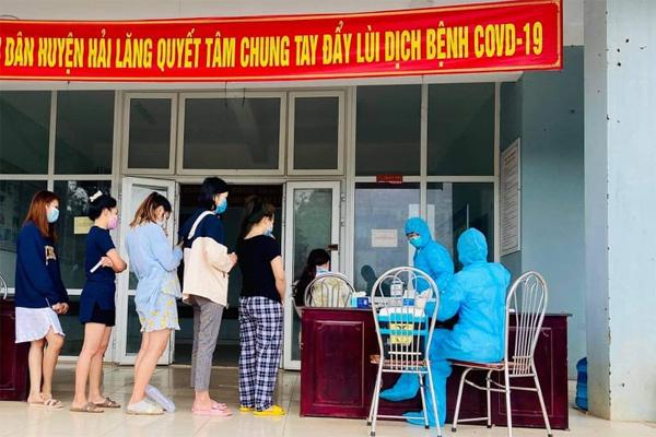 Cách ly 3 tài xế ở Quảng Trị tiếp xúc với ca nhiễm Covid-19 tại Lào