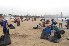 3km đường biển ở Quảng Ninh được dọn sạch rác