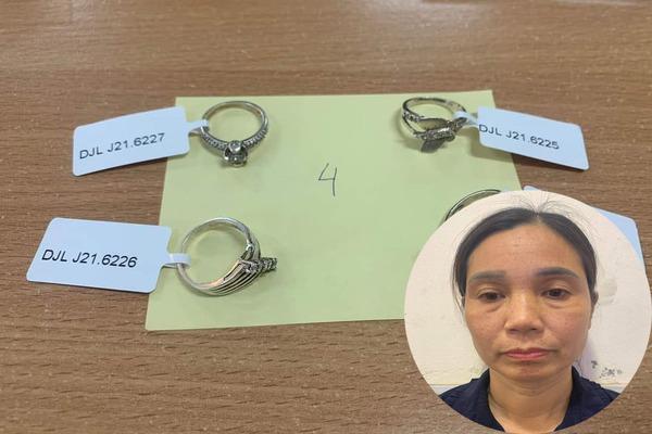 Người phụ nữ giúp việc trộm cắp tại tiệm vàng Ngã Tư Sở
