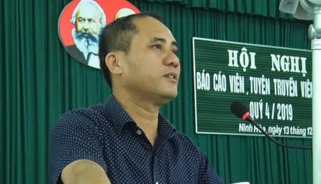 Khánh Hòa: Bắt tạm giam cán bộ công an đâm chết bí thư phường