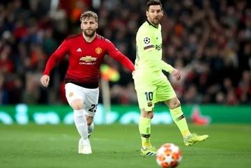 Luke Shaw của MU gây choáng, tạo cơ hội ngang Messi mùa này