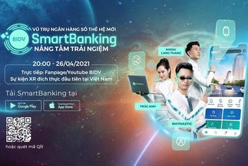Rhymastic, Khoai Lang Thang, Trúc Anh 'du hành' trong ngân hàng số BIDV