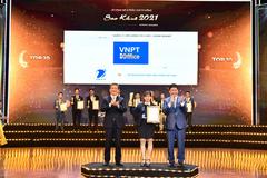VNPT nhận 16 giải thưởng Sao Khuê 2021