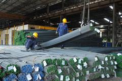 Giá nhà tăng đến cả tỷ đồng do giá thép cao kỷ lục