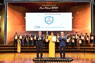 Ứng dụng 'Giám định viên' của PTI nhận Giải thưởng Sao Khuê 2021