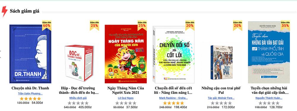 Trăm nghìn người 'săn' sách ngày Flash Sale Hội sách trực tuyến