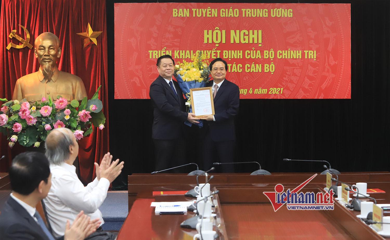 Ông Phùng Xuân Nhạ làm Phó Ban Tuyên giáo Trung ương
