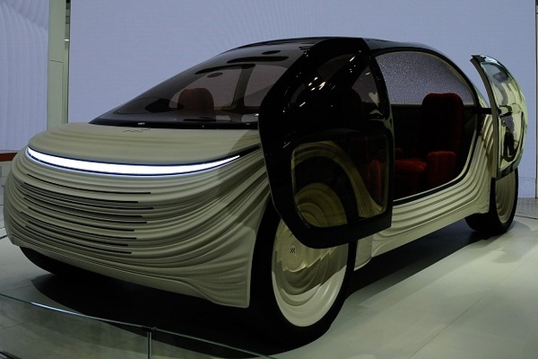 Những chiếc ô tô kỳ lạ nhất tại triển lãm ô tô Thượng Hải năm 2021