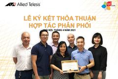 QD.TEK ký thoả thuận hợp tác phân phối với Allied Telesis