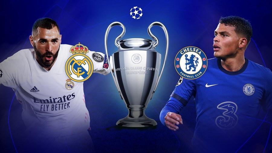 Trực tiếp Real Madrid vs Chelsea: Không khoan nhượng