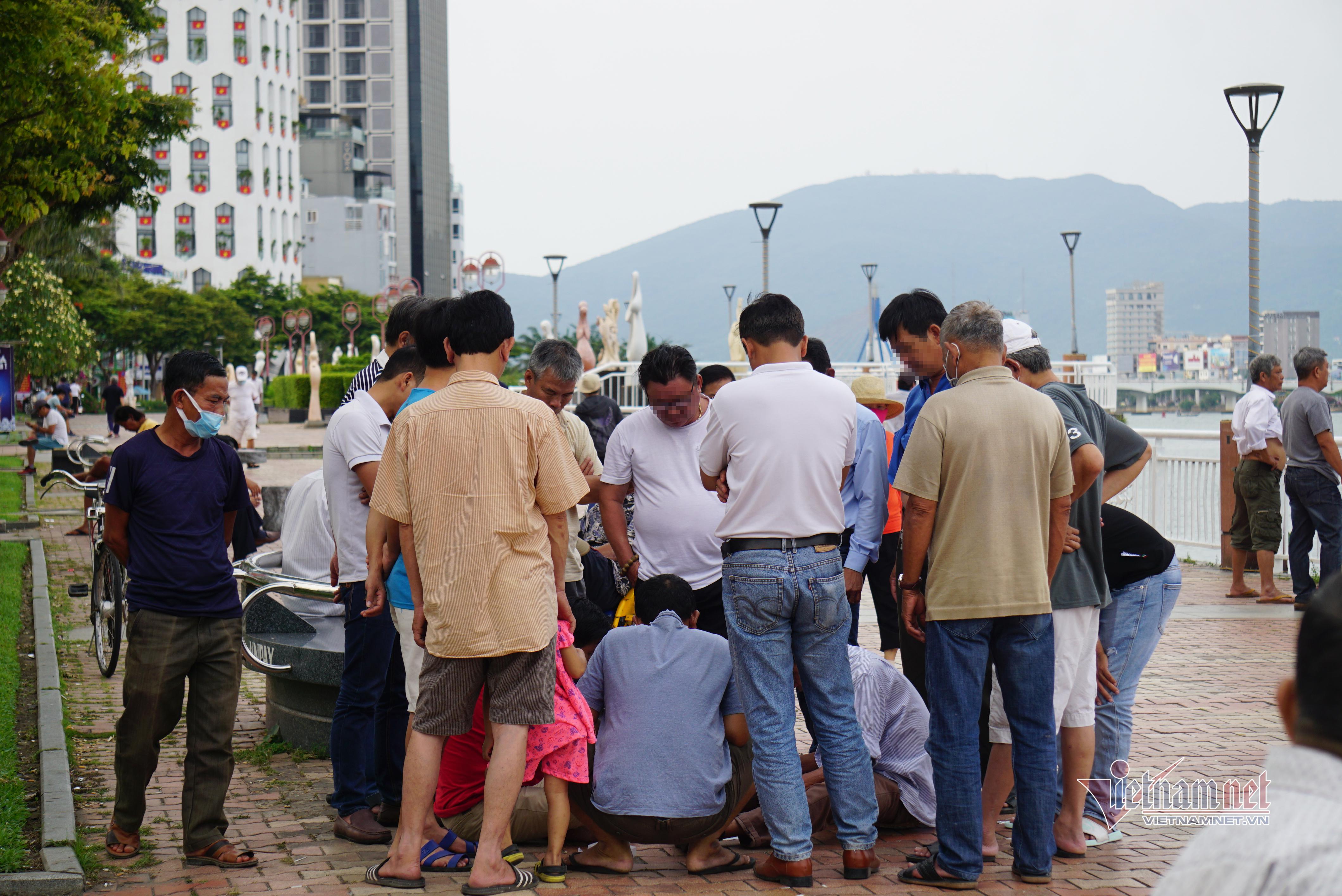 Nhiều người dân Đà Nẵng không đeo khẩu trang nơi công cộng