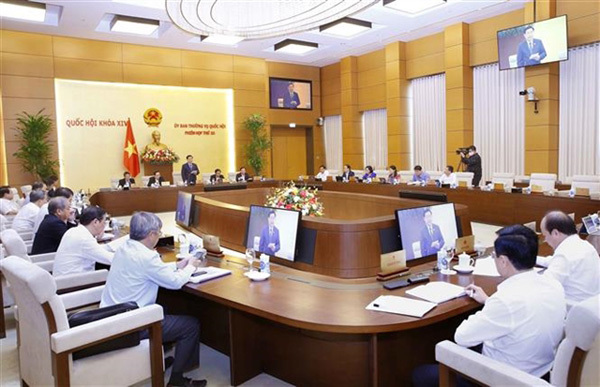 NA Standing Committee approves administrative boundary's adjustment of Hanoi and 3 provinces