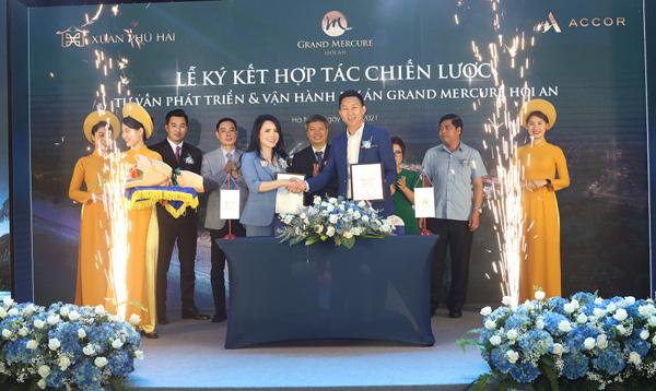 Xuân Phú Hải 'bắt tay' tập đoàn Accor phát triển dự án Grand Mercure Hoi An