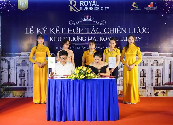 Ra mắt khu Royal Luxury ở dự án Royal Riverside City