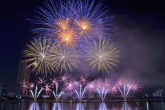 Da Nang cancels international fireworks festival for Covid-19 prevention