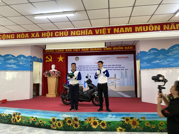 Honda Việt Nam nỗ lực đào tạo Lái xe an toàn trên toàn quốc