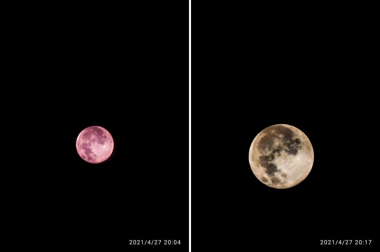 Xem hiện tượng 'siêu trăng hồng' ở Việt Nam