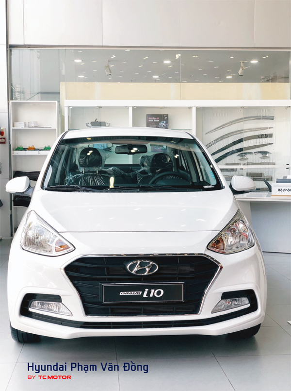 'Điểm cộng' hút khách của Hyundai Grand i10