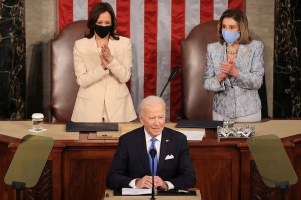 Ông Biden nhấn mạnh thành tích chống Covid-19 trước quốc hội