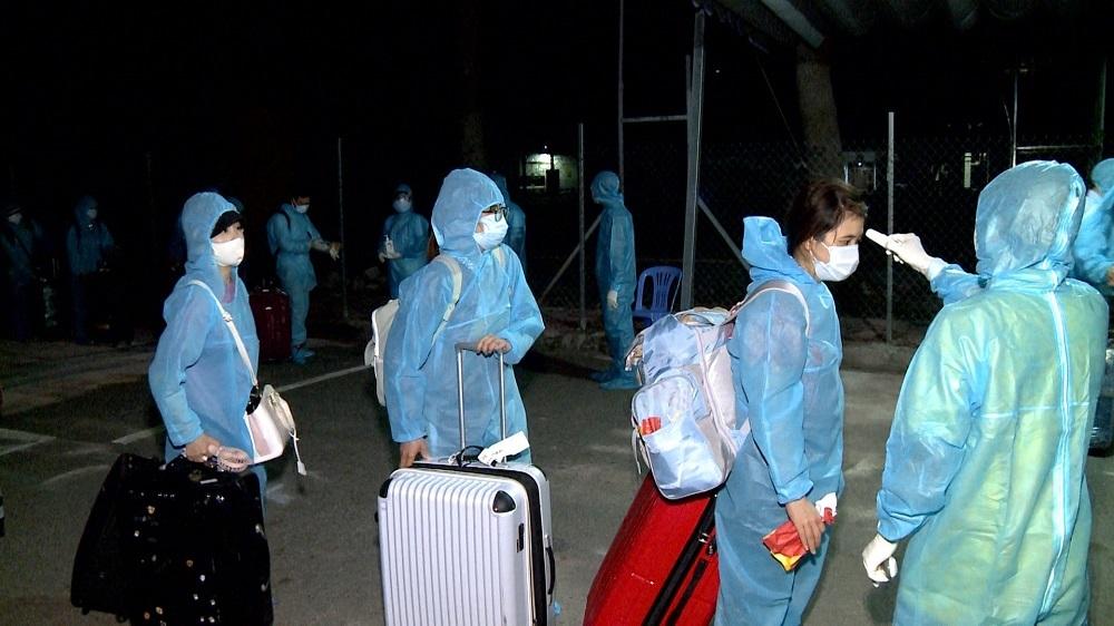 Bà Rịa - Vũng Tàu cách ly 340 công dân về từ Nhật Bản
