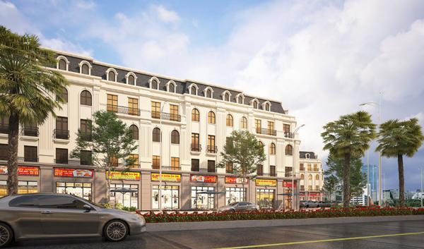 Kiến trúc tân cổ điển tuyệt đẹp của Sơn Đồng Center