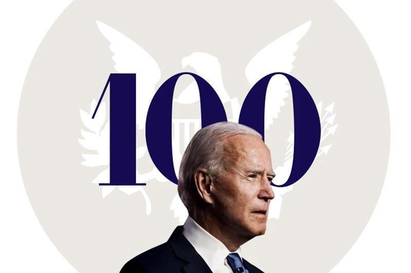 Những điều ông Biden đã làm trong 100 ngày cầm quyền đầu tiên