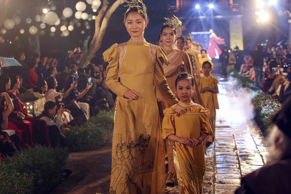 Programme honours beauty of Ao dai