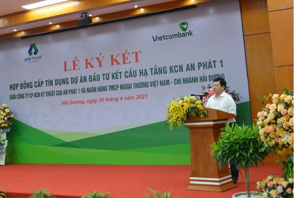 Vietcombank Hải Dương cấp tín dụng 1.200 tỷ đồng cho dự án KCN An Phát 1