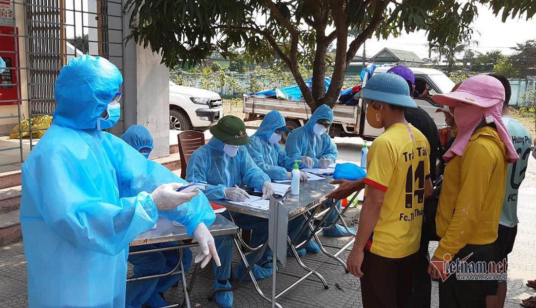 Một ca dương tính SARS-CoV-2 trong khu cách ly ở Nghệ An