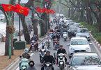 Thủ đô rực cờ hoa, biểu ngữ chào ngày lễ lớn của đất nước