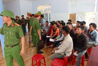 Vào khu bảo tồn ở Đắk Lắk phá rừng, 37 người ở Phú Yên bị bắt