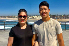 Hồng Vân, Lê Tuấn Anh vỡ òa khi con trai nhận 3 đề cử 'Los Angeles Film Awards'