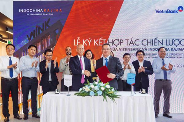 VietinBank và Indochina Kajima ký thỏa thuận hợp tác chiến lược