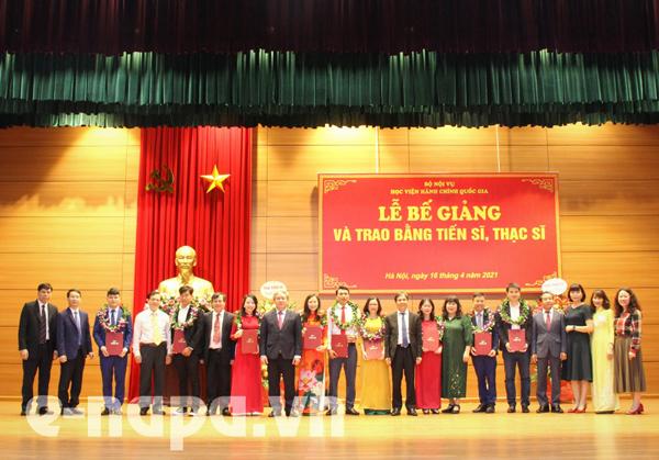 Học viện Hành chính Quốc gia tuyển sinh đào tạo thạc sĩ đợt 2 năm 2021