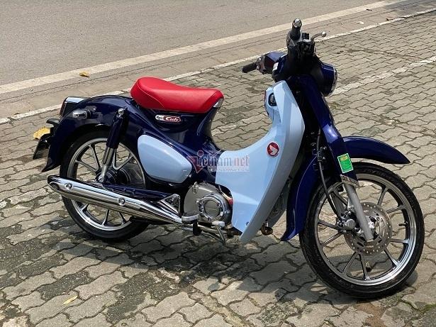 Honda Cub C125 biển số Vip chưa đổ xăng giá hơn 300 triệu đồng