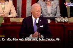 Khoảnh khắc chưa từng có khi ông Biden phát biểu trước quốc hội