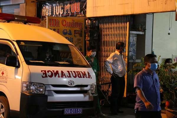 Hẻm ở Sài Gòn bị phong tỏa vì liên quan ca bệnh mắc Covid-19