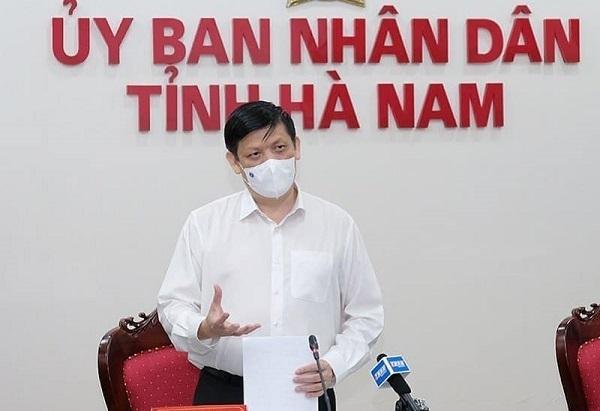 Bộ trưởng Bộ Y tế: 'Ổ dịch Hà Nam có tốc độ lây nhiễm nhanh'