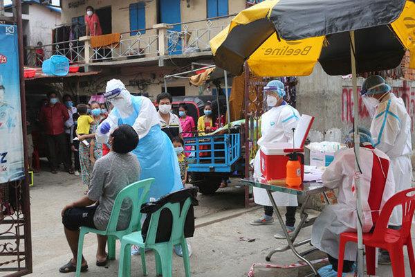 Campuchia ghi nhận số ca nhiễm Covid-19 cao chưa từng thấy