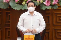 Thủ tướng Phạm Minh Chính chủ trì họp khẩn về phòng chống Covid-19