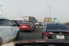 Không xả trạm khi ùn tắc, đơn vị quản lý cao tốc Long Thành bị lập biên bản