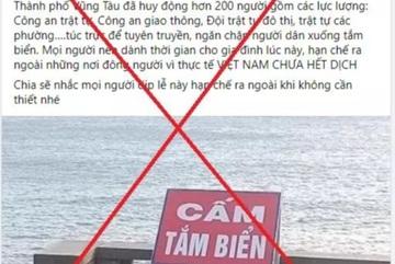 Du khách đồng loạt hủy phòng vì tin đồn 'Vũng Tàu cấm tắm biển'