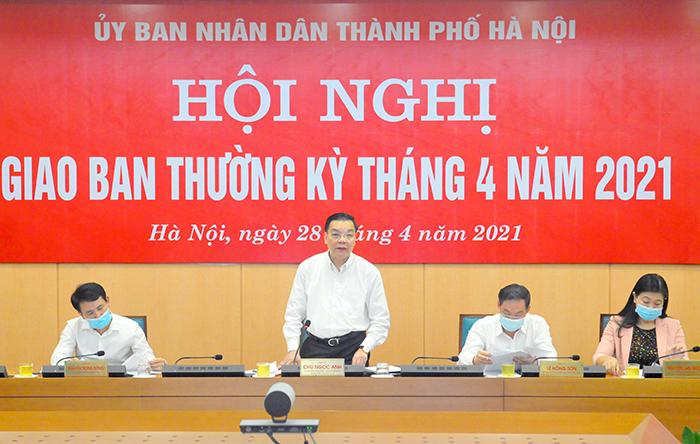 Hà Nội quyết tâm triển khai hiệu quả các nhiệm vụ tăng trưởng KT-XH
