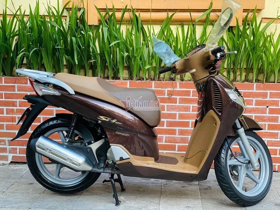 Honda SH 2008 màu sôcôla giá hơn 250 triệu đồng gây sốt