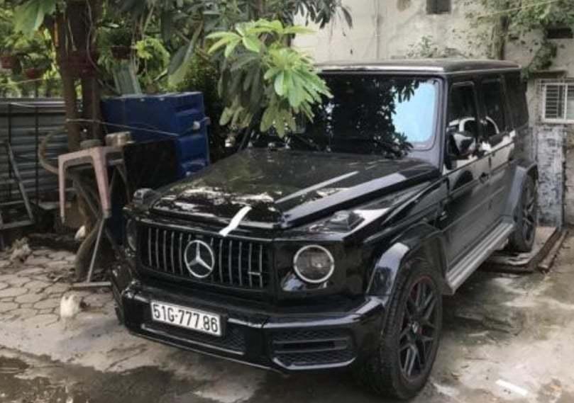 Công an điều tra vụ xe Mercedes G63 gắn biển số giả