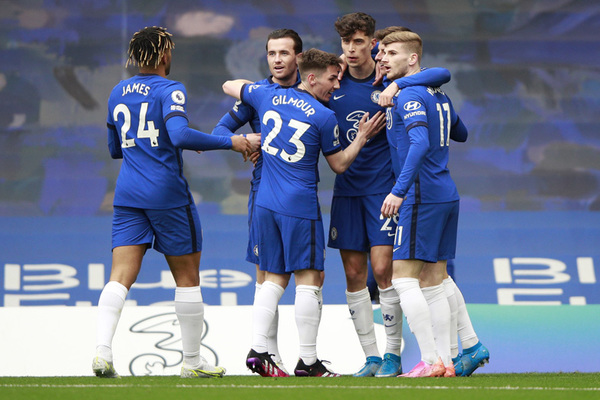 Havertz lập cú đúp, Chelsea thắng dễ Fulham